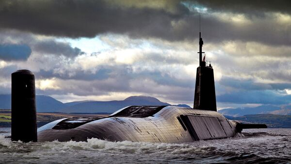 Un submarino nuclear británico de clase Vanguard - Sputnik Mundo