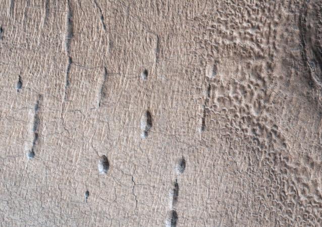 Pozos marcianos
