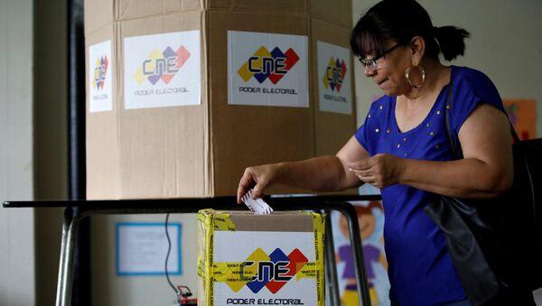 Elecciones de gobernadores en Venezuela - Sputnik Mundo