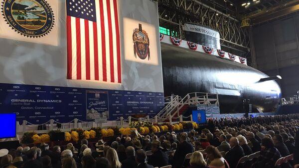 El nuevo submarino estadounidense USS South Dakota - Sputnik Mundo