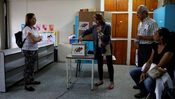 Elecciones regionales en Venezuela - Sputnik Mundo