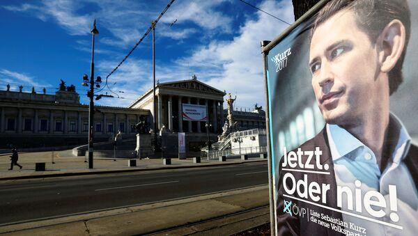Сampaña electoral del Partido Popular Austriaco (OVP) - Sputnik Mundo