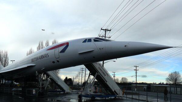 Un avión supersónico Concorde - Sputnik Mundo