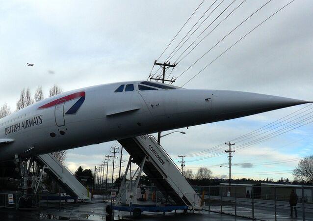 Un avión supersónico Concorde