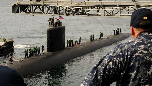 El submarino USS Tucson de la Armada de EEUU (archivo) - Sputnik Mundo