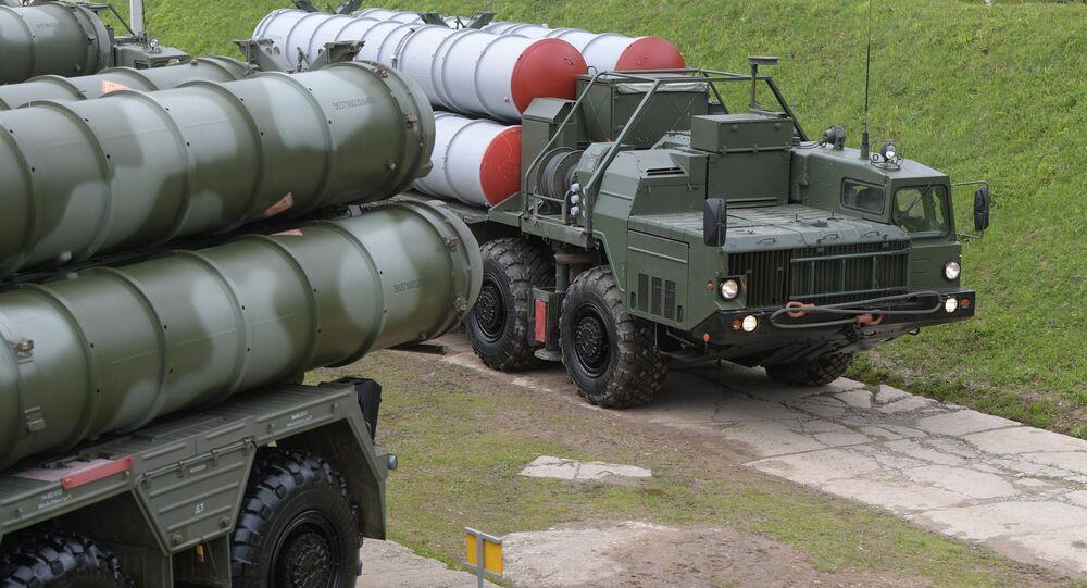Sistema antiaéreo ruso S-400