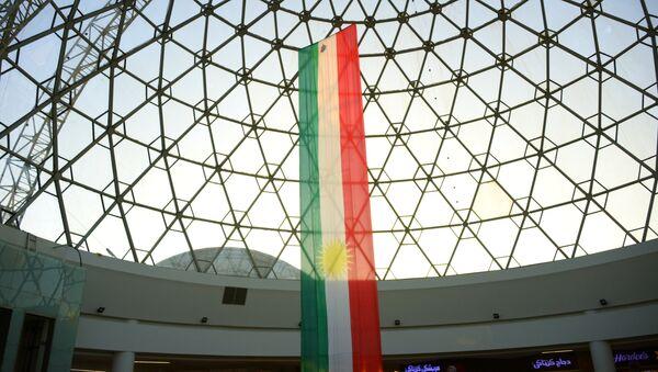 Bandera del Kurdistán iraquí - Sputnik Mundo
