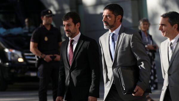 Josep Lluís Trapero, jefe de la Policía catalana - Sputnik Mundo
