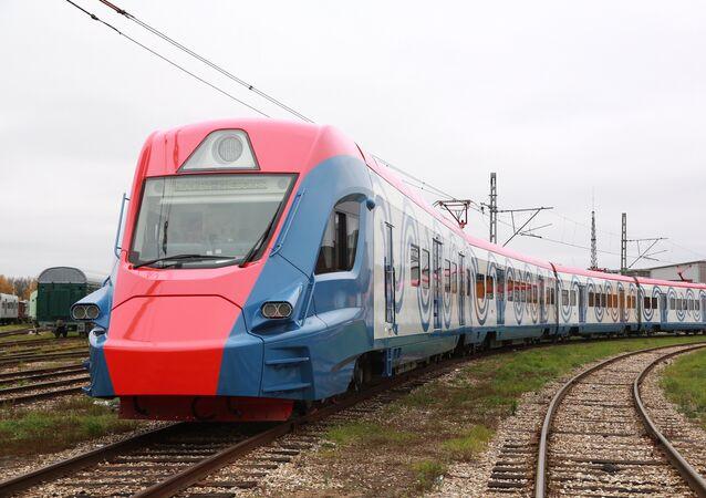 El Ívolga, el innovador tren suburbano de Transhmashholding, diseñado y construido con tecnologías rusas