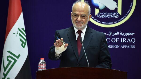 Ibrahim Jaafari, ministro de Exteriores iraquí - Sputnik Mundo