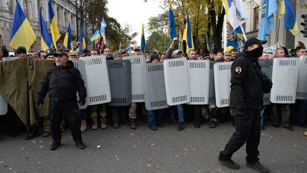 Protesta de la oposición en Kiev - Sputnik Mundo
