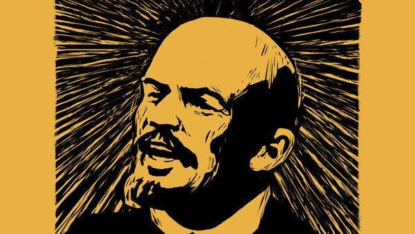 Arte sobre la colección Arsenal Lenin, de la editorial brasileña Boitempo - Sputnik Mundo