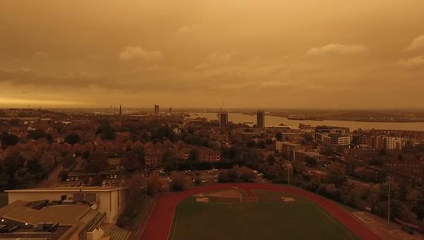 Londres se cubre de un 'cielo marciano' - Sputnik Mundo