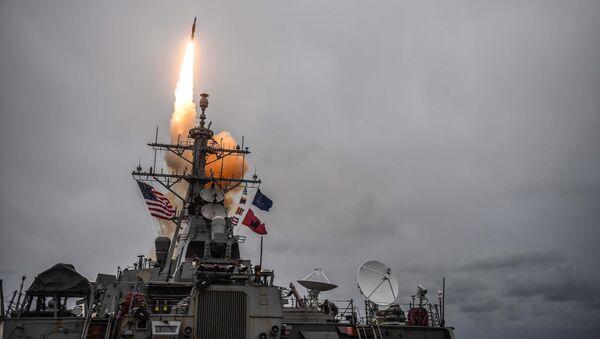 Lanzamiento de un misil SM - Sputnik Mundo