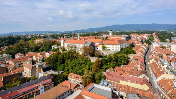 Zagreb, la capital de Croacia - Sputnik Mundo