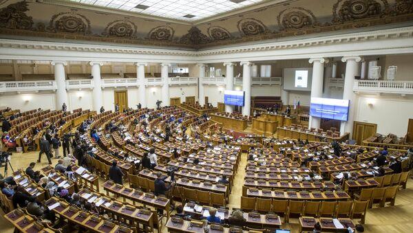 La 137ª Asamblea de la UIP en San Petersburgo - Sputnik Mundo