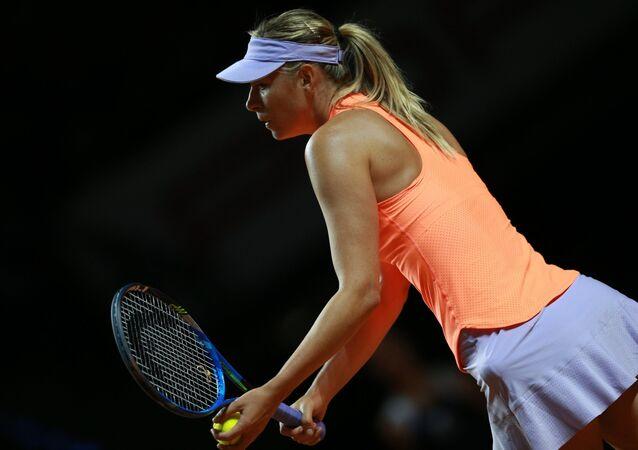 María Sharápova, tenista rusa (archivo)
