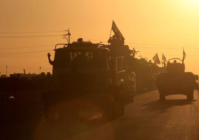 La situación en la región de Kirkuk, Irak