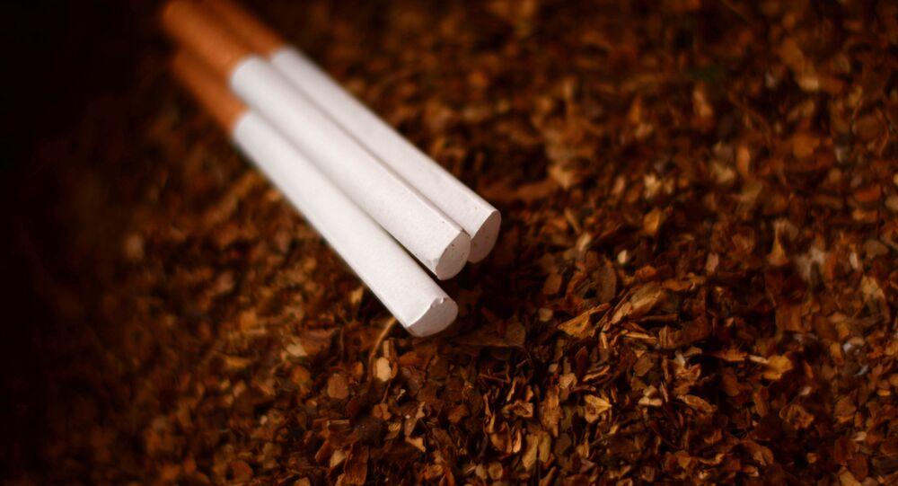 Imagen referencial de tabaco