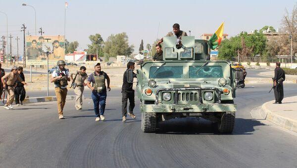 Los peshmerga en la ciudad de Kirkuk (archivo) - Sputnik Mundo
