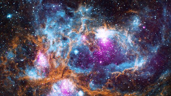 Espacio (imagen referencial) - Sputnik Mundo