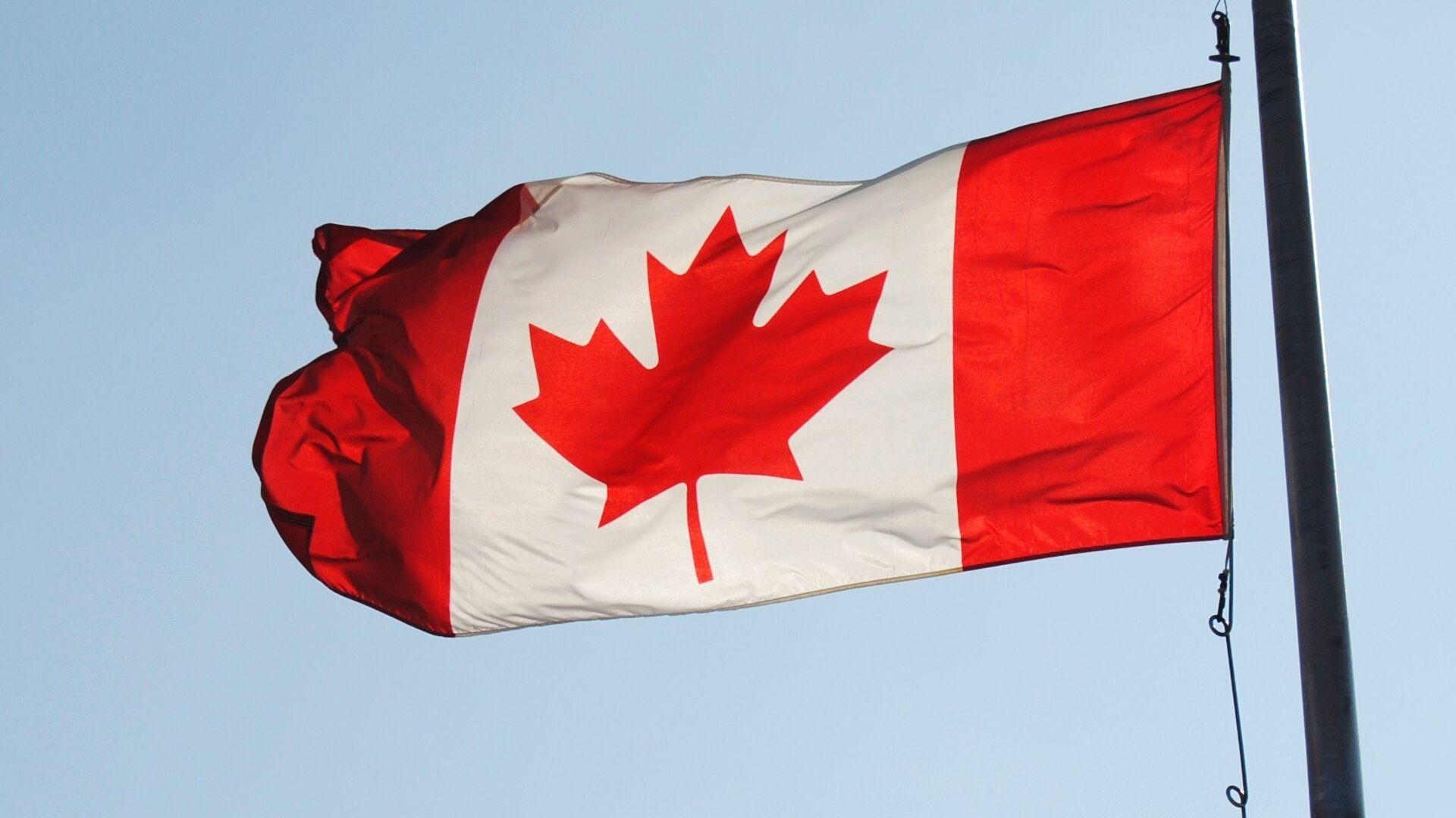 Bandera de Canadá - Sputnik Mundo, 1920, 16.04.2021