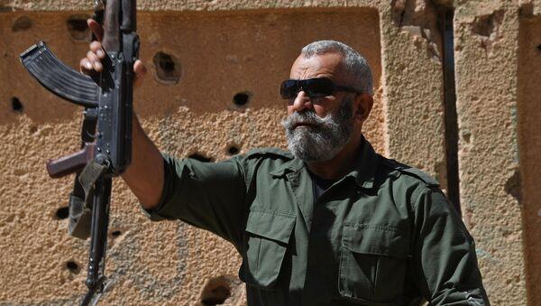 Issam Zahreddine, general del Ejército Árabe Sirio (archivo) - Sputnik Mundo