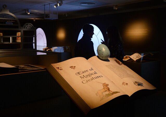 Exposición de Harry Potter en la Biblioteca Británica