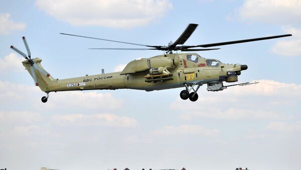 Helicóptero Mi-28UB - Sputnik Mundo