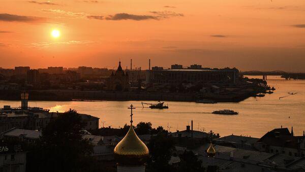 La ciudad rusa de Nizhni Novgorod - Sputnik Mundo