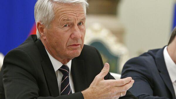 Thorbjorn Jagland, secretario general del Consejo de Europa - Sputnik Mundo