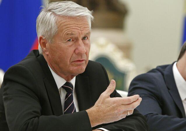 Thorbjorn Jagland, secretario general del Consejo de Europa (archivo)