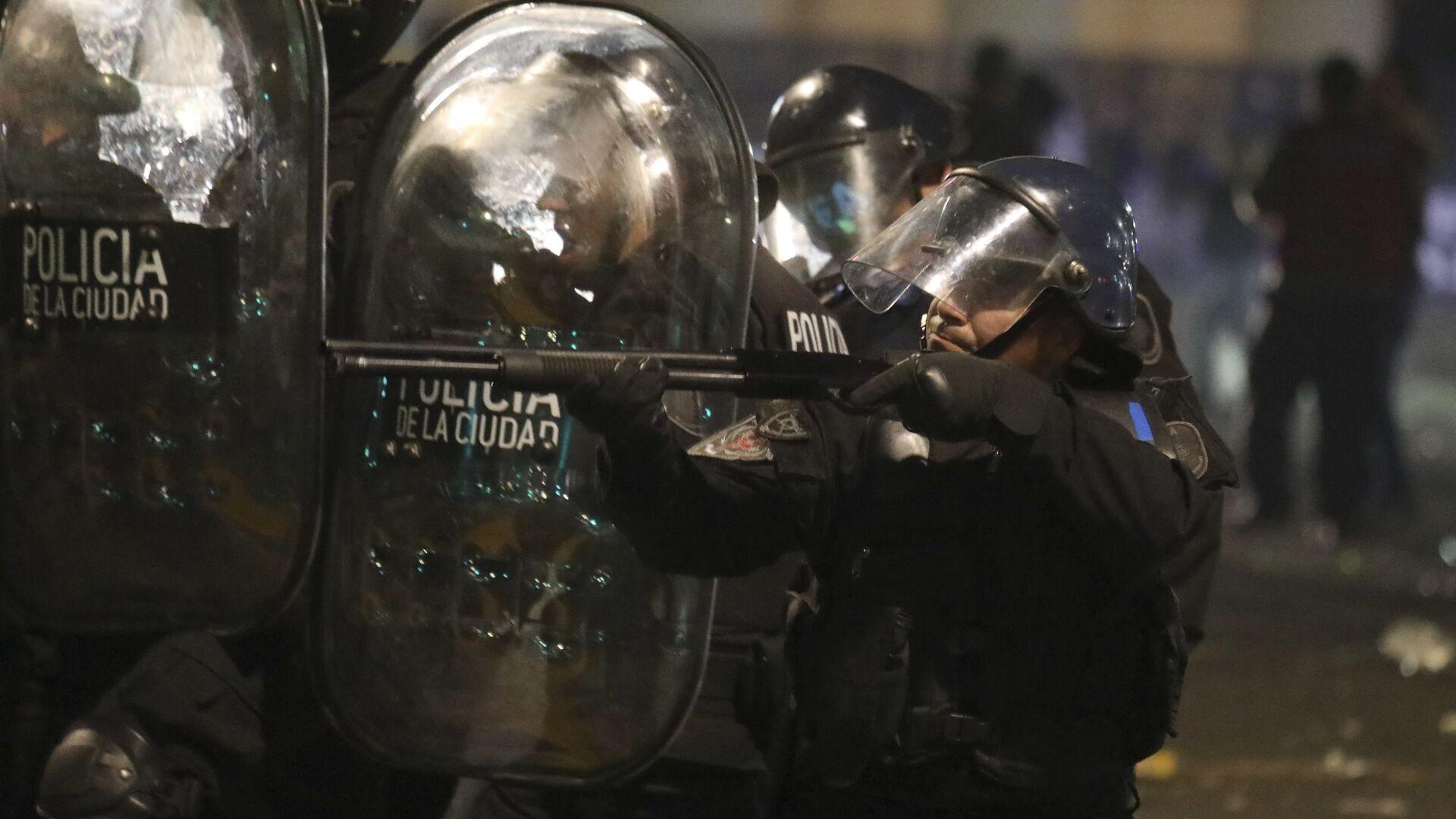 La Policía de Argentina (imagen referencial) - Sputnik Mundo, 1920, 28.07.2021