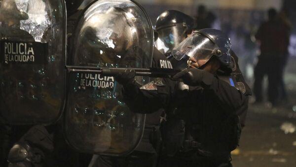 La Policía de Argentina - Sputnik Mundo