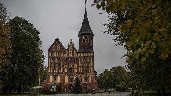 La catedral de la isla de Kant, en Kaliningrado - Sputnik Mundo
