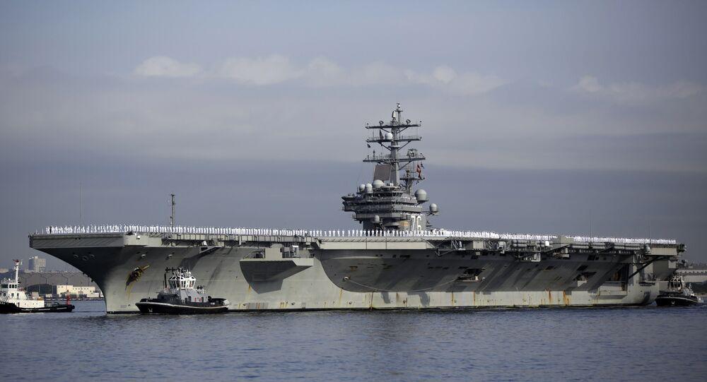 El portaviones USS Ronald Reagan