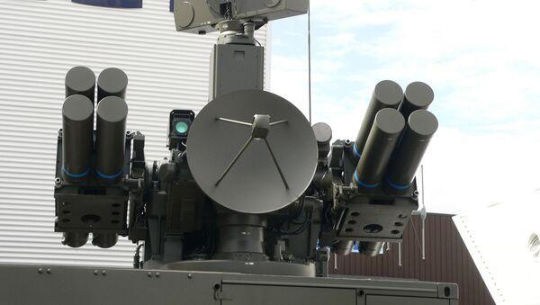 El misil teledirigido francés Crotale (imagen referencial) - Sputnik Mundo