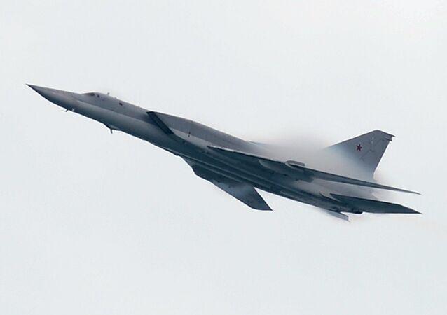 El bombardero supersónico Tu-22M3 (imagen referencial)
