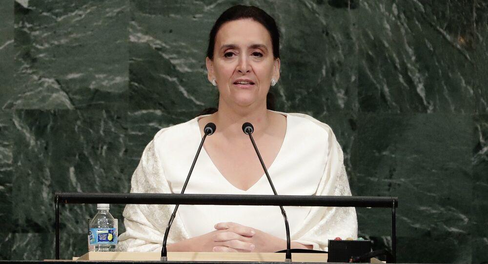 Gabriela Michetti, vicepresidenta de Argentina