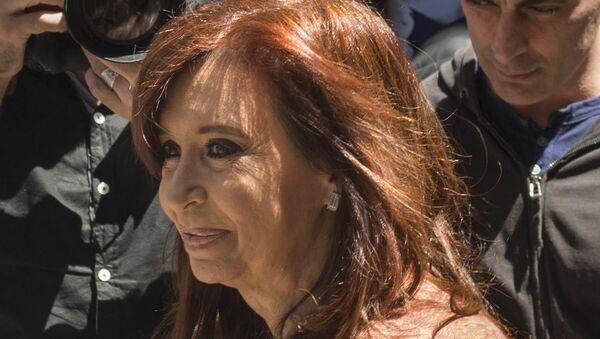 Cristina Fernández de Kirchner, candidata a senadora y expresidenta argentina - Sputnik Mundo