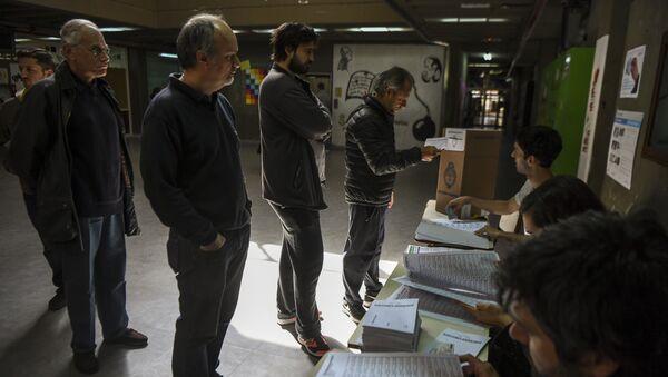 Elecciones parlamentarias en Argentina - Sputnik Mundo