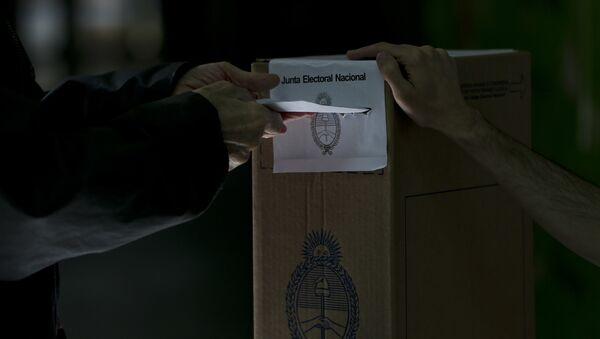 Elecciones en Argentina (archivo) - Sputnik Mundo