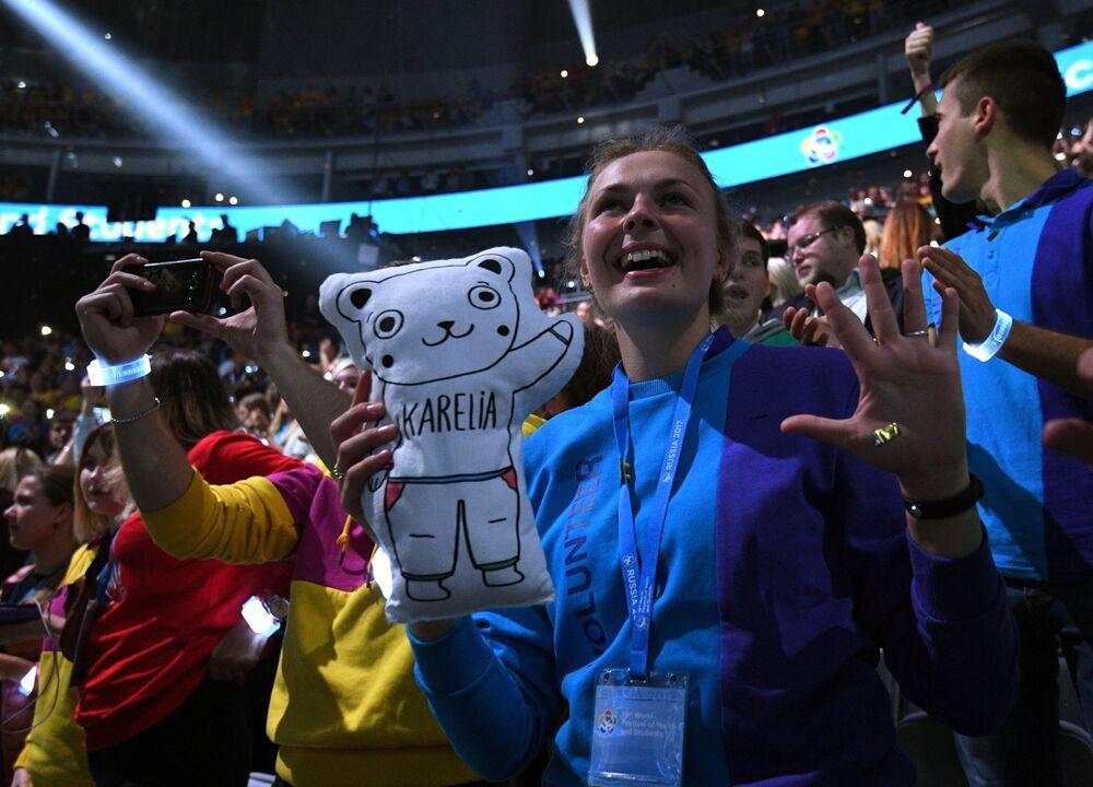 Termina en Sochi el XIX Festival de la Juventud y los Estudiantes en Sochi