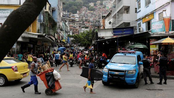 Favela Rocinha de Río de Janeiro, Brasil (archivo) - Sputnik Mundo