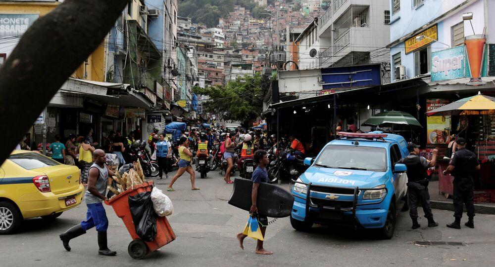 Favela Rocinha de Río de Janeiro, Brasil (archivo)