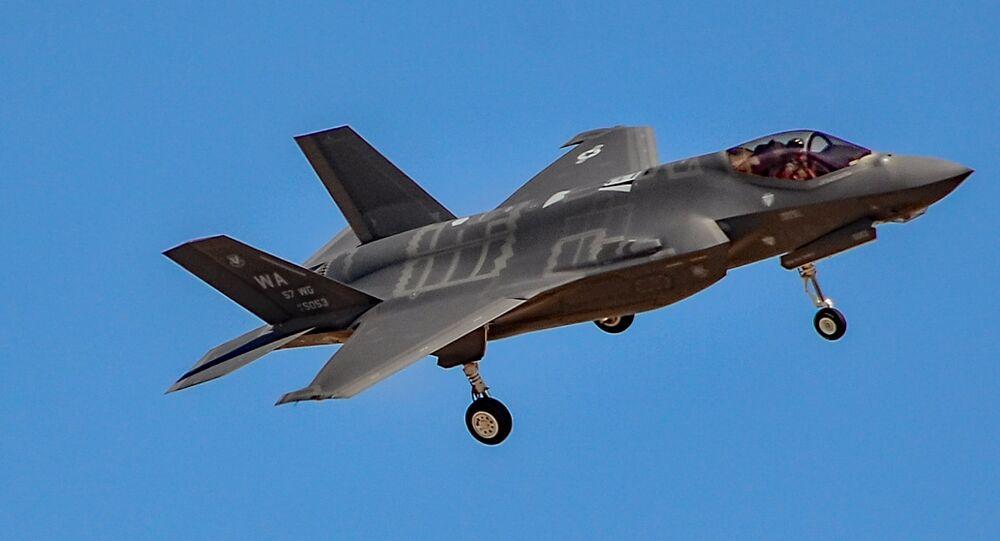 Caza estadounidense F-35