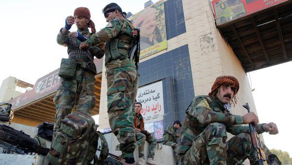 Los kurdos peshmerga en Kirkuk - Sputnik Mundo