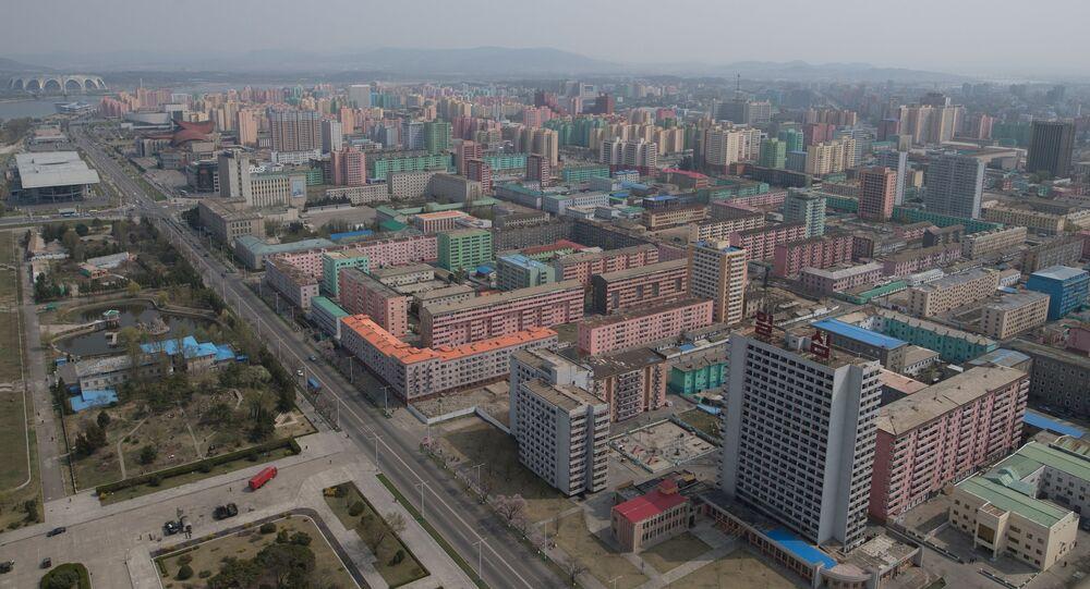 Pyongyang, capital de Corea de Norte