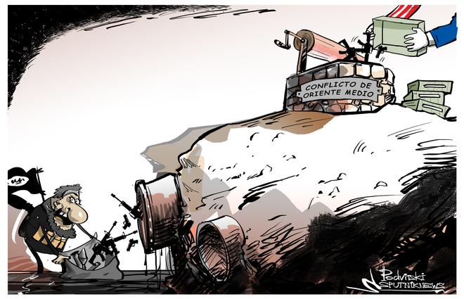 Las armas de Daesh en Siria