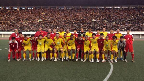 El club Atletico de Sorocaba en Corea del Norte - Sputnik Mundo